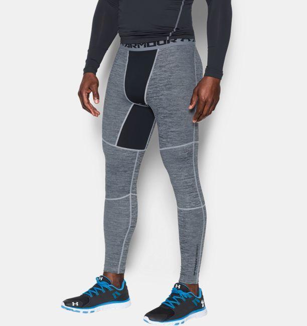 Under Armour Men's UA ColdGear® Armour Twist Compression Leggings