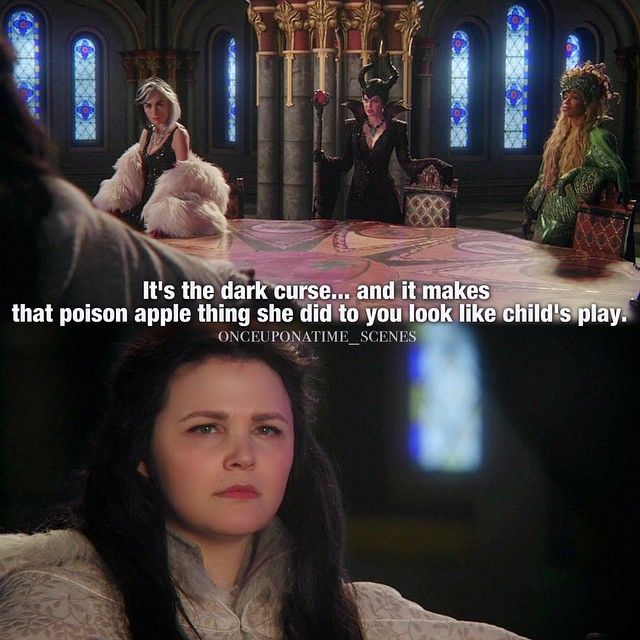 "queen of Darkness and Snow White - 4 * 13 ""Unforgiven"""