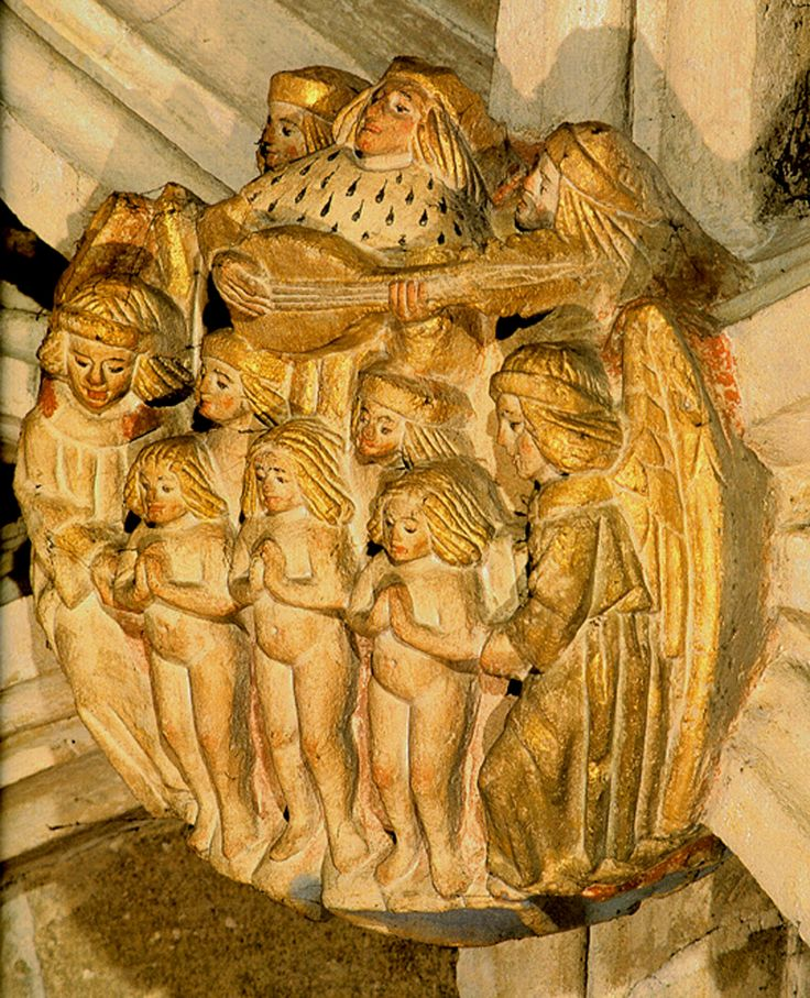 The Holy Innocents being received into Paradise, Norwich Cathedral
