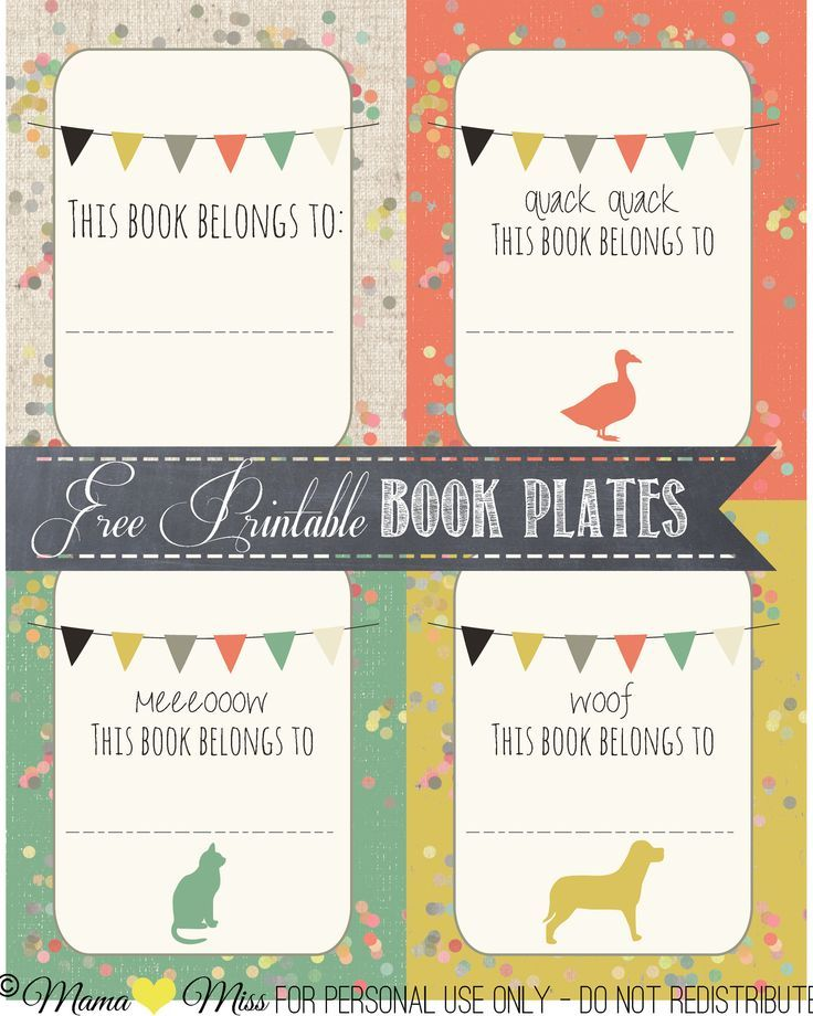 14 best bookplate labels book label templates images on pinterest book labels printables. Black Bedroom Furniture Sets. Home Design Ideas