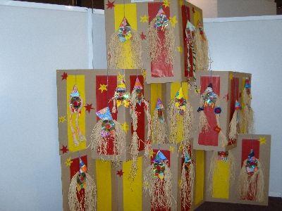 Ecole Saint Martin du Vivier - CP - Exposition sur le cirque