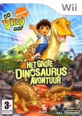 Go Diego Go spreekt de kleine aan omdat hij bekend van tv is! http://www.mariowii.nl/wii_spel_info.php?Nintendo=Go_Diego_Go_Het_Grote_Dinosaurus_Avontuur