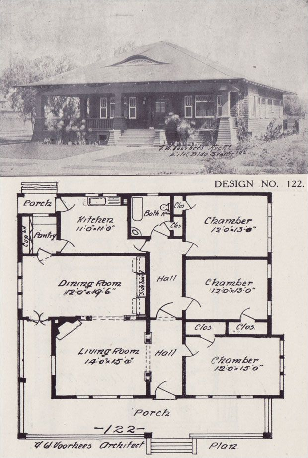 561 best Bungalows (Exteriors and Floor Plans) images on Pinterest ...