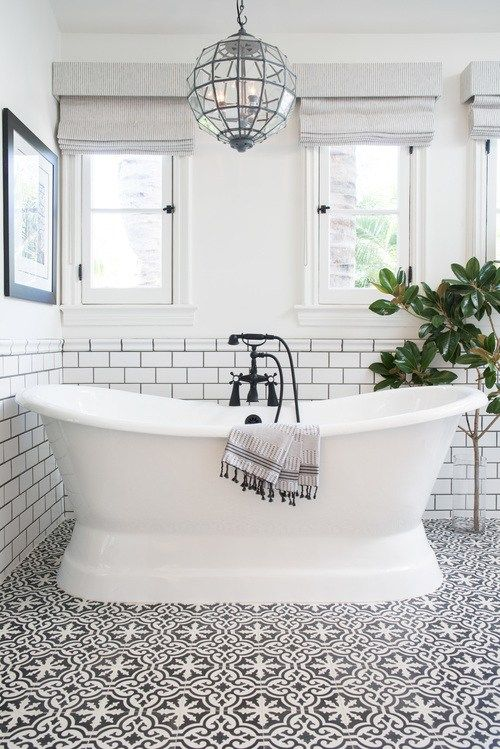 Black and White Bathroom - Contrast Study | COCOCOZY