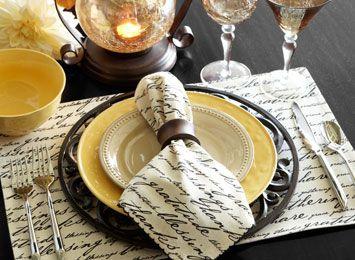 29 best Table, Set, Entertain images on Pinterest | Place settings ...