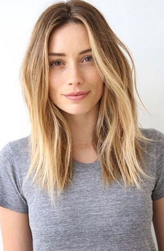 how to cut long hair to shoulder length