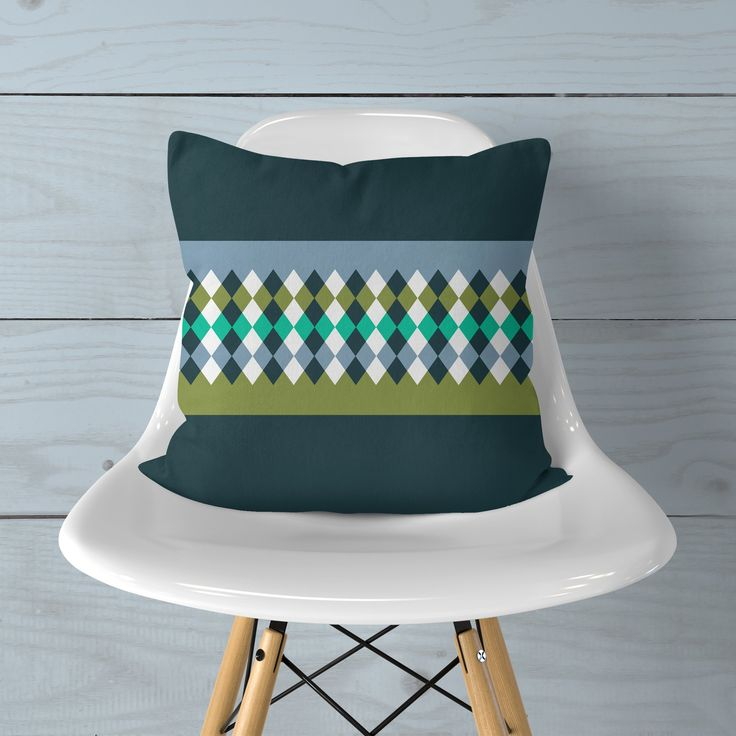 This soft pillow is an excellent addition that gives character to any space. It comes with a soft polyester insert that will retain its shape after many uses, and the pillow case can be easily machine washed. Pillow case cover contains 80% polyester, 20% fleece. Pillow case insert contains 100% polyester.