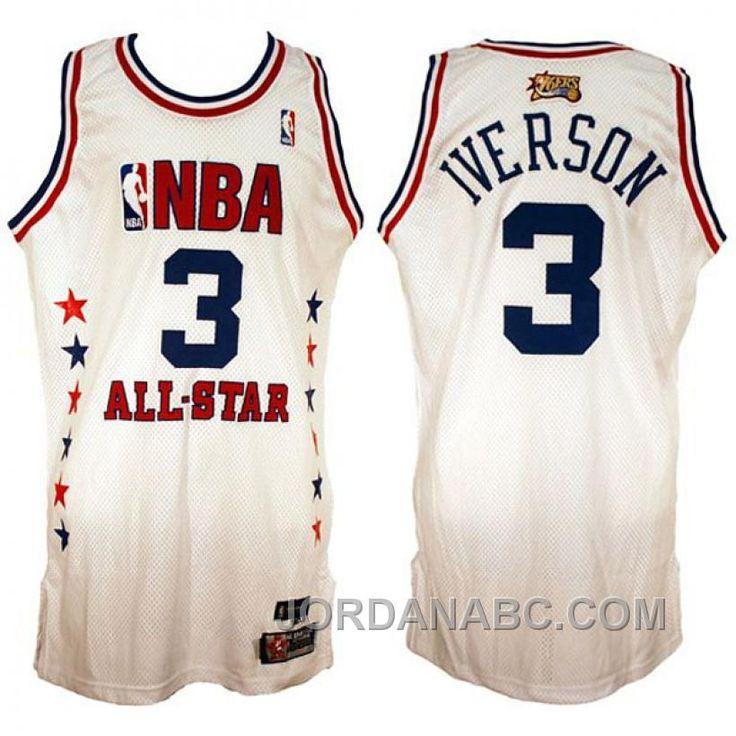 56370eae781 ... httpwww.jordanabc.comallen-iverson-2003- NWT Throwback Swingman Jersey  ALLEN IVERSON 3 Philadelphia 76ers Black Men ...