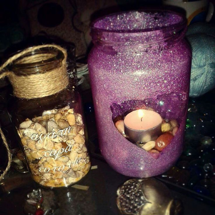 Jars for decoration