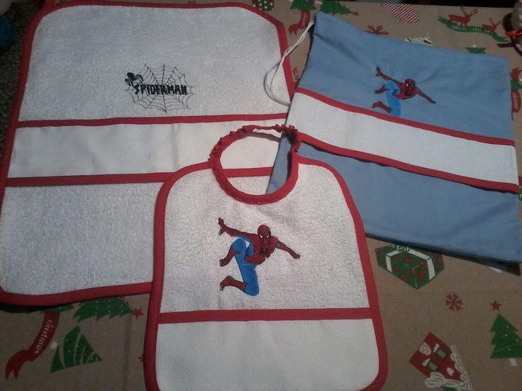 Set asilo spiderman, by pezze pazze ricamabili, 13,00 € su misshobby.com