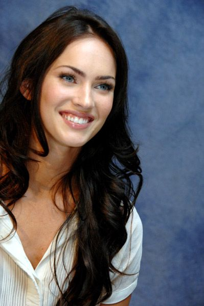 Megan Fox || With a True Summer background looking beautiful, but not popping as a person would who looks best in True Summer colors.