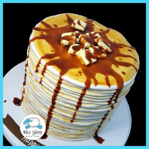 stack of pancakes cake nj
