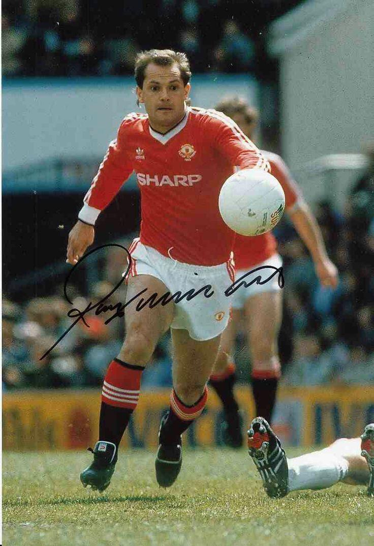 Ray Wilkins of Man Utd in 1983.