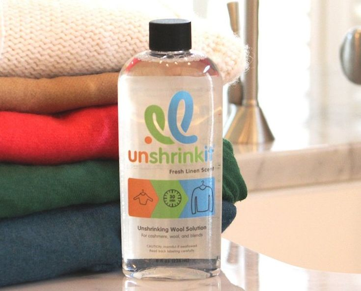 This would have saved me from the doghouse when I shrunk my wife's favorite cashmere sweater. It was tiny…can't wait to watch this on Shark Tank #sharktank #unshrinkit