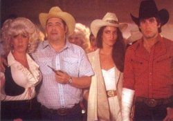 Dress like characters from the movie Urban Cowboy