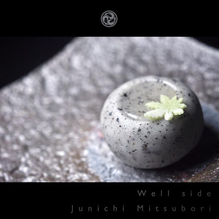 "#JunichiMitsubori #wagashi #kadou #Sweets #Artist #Japanese #Confectionery #works #instaphoto #instasweets #侘寂 #wabisabi #prayforkyushu #一日一菓 「 #菓道 #井戸辺 」 #煉切 wagashi of the day "" #kadou #Well side "" #和菓子 #neriki #一菓流"
