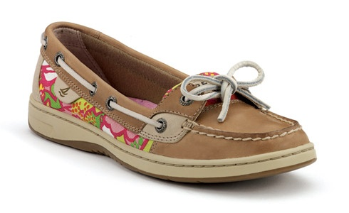 sperrys, love the flower print!