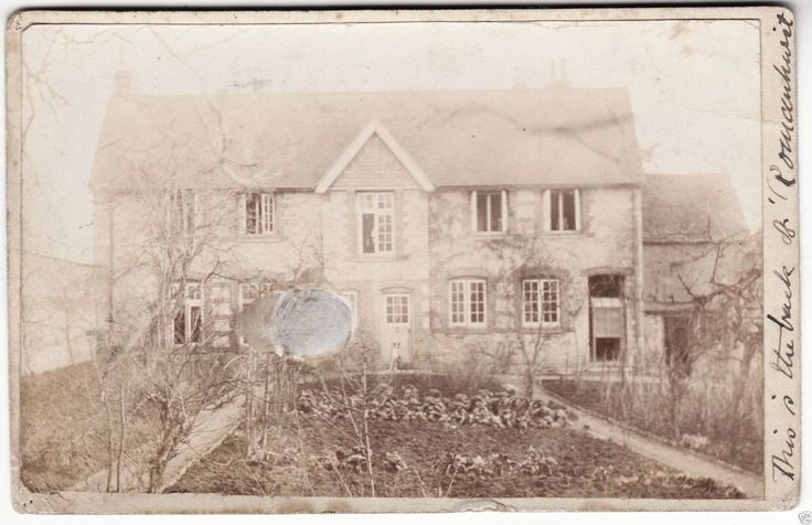 ROMANHURST - North Leigh - Witney - Two Home Made Real Photo postcards - 1905 | eBay
