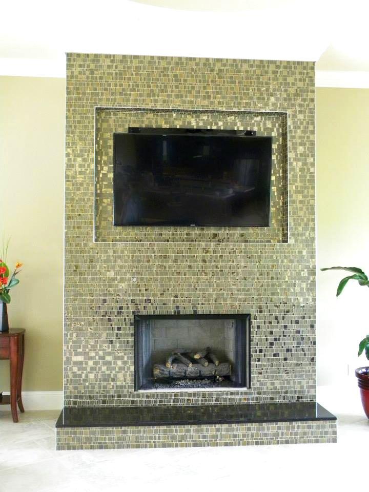 #Mosaic #Liberty #Bronzite - Private #residence - USA