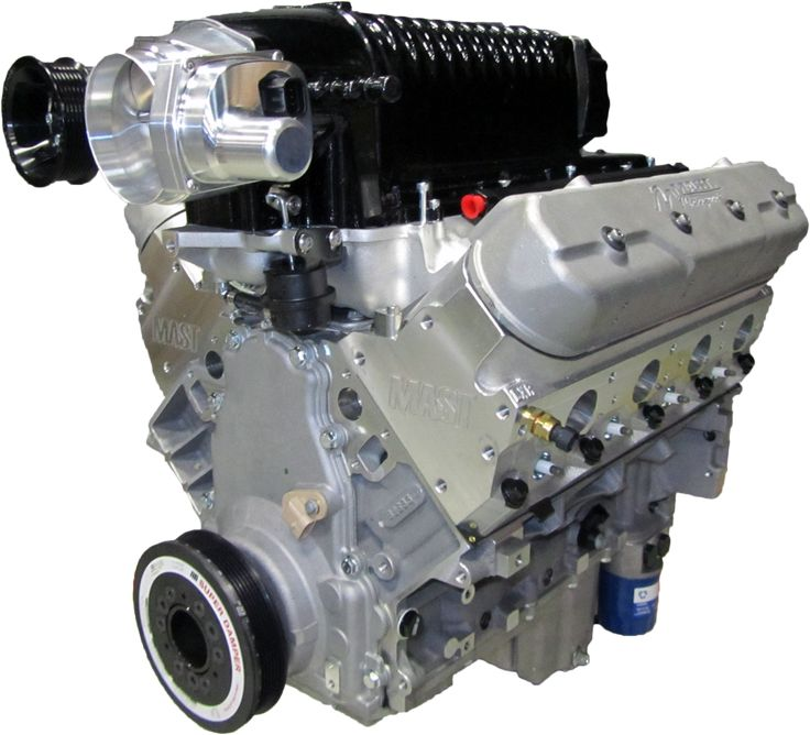 Whipple Supercharger Hellcat: LS3 416 Black Label Supercharged Crate Engine
