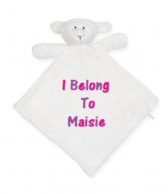 8 best personalised gifts for babies images on pinterest this lovely lamb comforter makes a great easter gift instead of chocolate for those little ones negle Image collections
