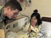 Soldier Surprises his Hospitalized Little Girl - Her Reaction Will Melt Your Heart ♥