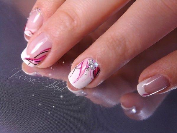 Idee vernis semi permanent french recherche google ongles pinterest nail art fran ais - Idee vernis semi permanent ...