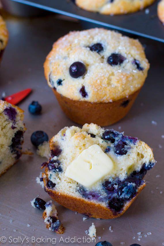 Sparkling Jumbo Blueberry Muffins