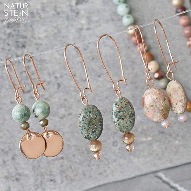 Davon werden Sie fröhlich: Neue Naturstein runde und ovale Perlen! #natur #stein #perlen #beads #ohrringe #earrings #style #nature #look #beautiful #pretty #schön #schmuck #natürliche #materialien #armbänder #grosshandel #shop #online #getitnow