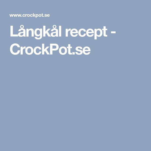 Långkål recept - CrockPot.se