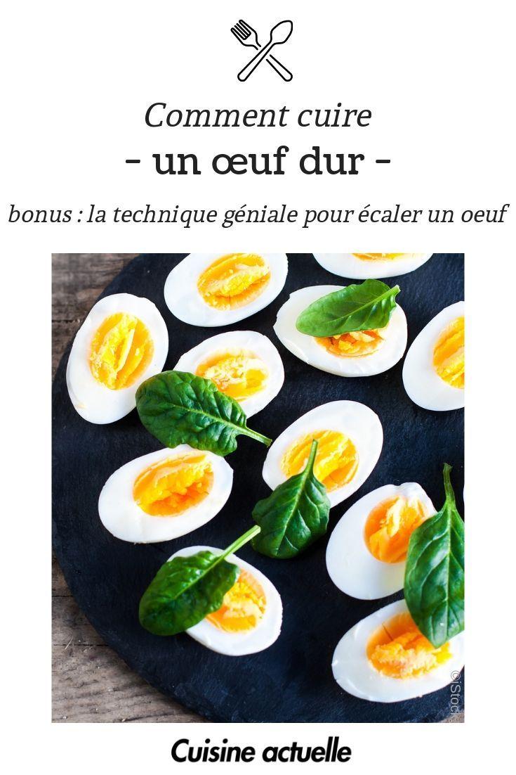 Comment Cuire Un œuf Dur La Technique Geniale Pour Ecaler Un Oeuf Comment Cuire Des Oeufs Cuire Un Oeuf Oeufs Durs