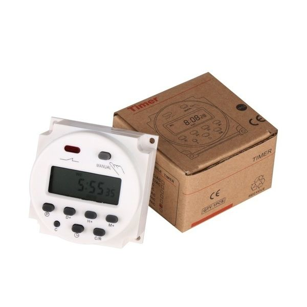 Cn101a Ac 12v 220v Digital Lcd Power Timer Programmable Time Switch Relay Timer Digital Timer Time Timer Digital