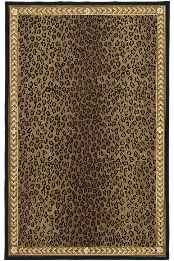 Safavieh Hand Hooked Chelsea Leopard Brown Wool Rug X Ping Great Deals On Rugs