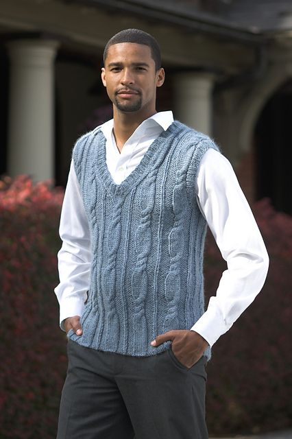Like the sweater vest, not so much the model wearing it. Did our tax dollars go toward paying for it?