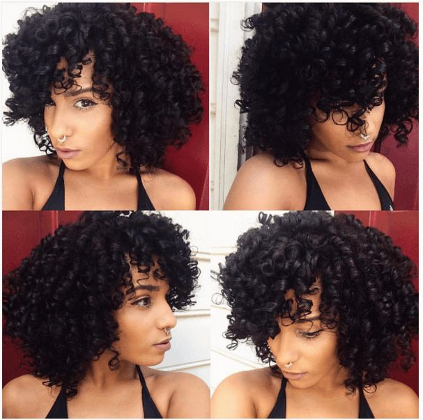 Glamorous Flexi Rod Set Curls IG:@callherdini  #naturalhairmag