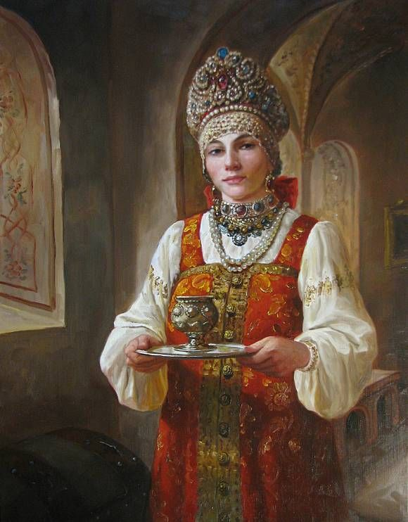Чаша дорогому гостю, автор Шишкин Андрей. Артклуб Gallerix