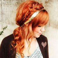 braids: Red Hairs, Weddings Hairstyles, Hairs Idea, Hairs Styles, Hairs Color, Girls Hairstyles, Long Hairs, Side Braids, Popular Hairs