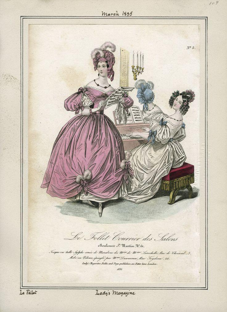 Lady's Magazine March 1835 LAPL