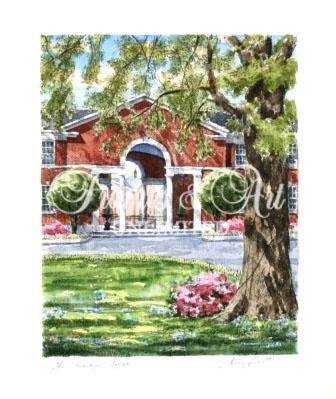 """The Loggia"" – Wesleyan College  Sterling Everett"