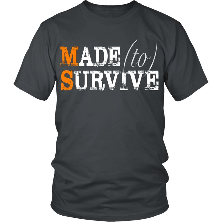 Dedicated to the men and women suffering from MS, the real super heroes. This shirt is for true super heroes. For those suffering from Multiple Sclerosis and th
