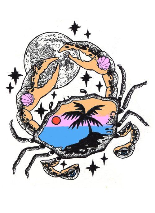 Cancerian moon