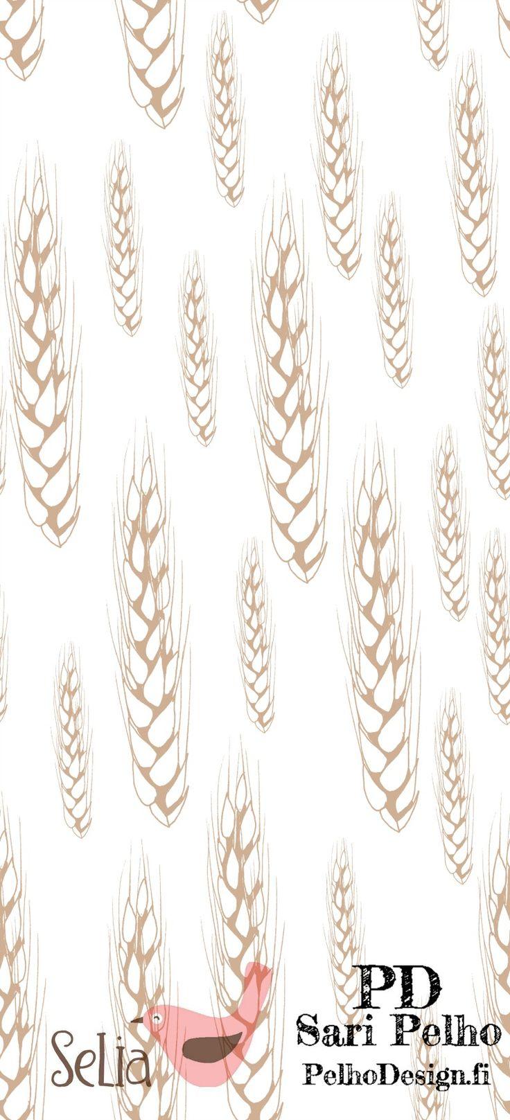 Tähkä Jersey. Isointähkä on 14 cm korkea. Valmistuttaja: Selia, kuosin suunnitellut Sari Pelho /PelhoDesign Neliöpaino: 200g / m2 Leveys: n. 165 cm Materiaalitiedot: 95 % puuvillaa (öko-tex 100), 5 % lycra Pesu: 40 asteessa nurin käännettynä samanväristen kanssa/erillään. Kutistuvuus: 1 – 5%. Valmistettu euroopassa. Kankaat myydään 0,1m tarkkuudella eli ostaessasi kangasta esim. 0,5m lisää ostoskoriin...