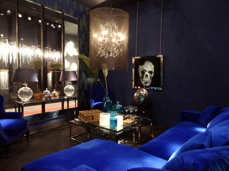 Les 153 meilleures images propos de bleu dream sur pinterest murs bleus turquoise et salles for Decoration interieure salon