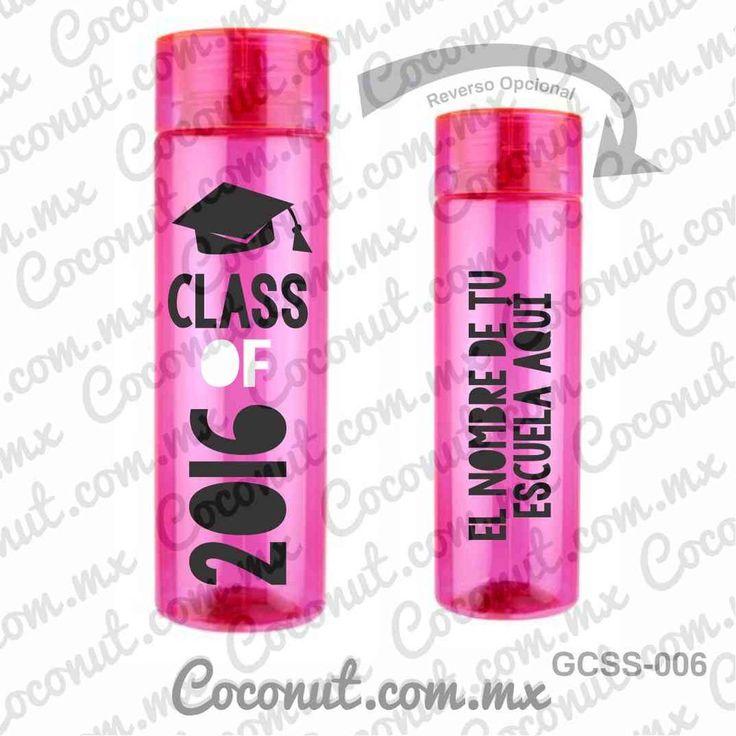 Cilindro para graduación disponible en www.coconut.com.mx Síguenos en Facebook www.facebook.com/... #Termo #Cilindro #Personalizado #Graduacion #CallMeLic #ClassOf2016 #Party