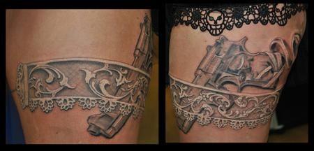 Garter Tattoo