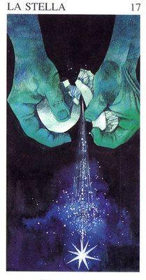 The Star - Tarocchi delle Origini (my favorite tarot card!)