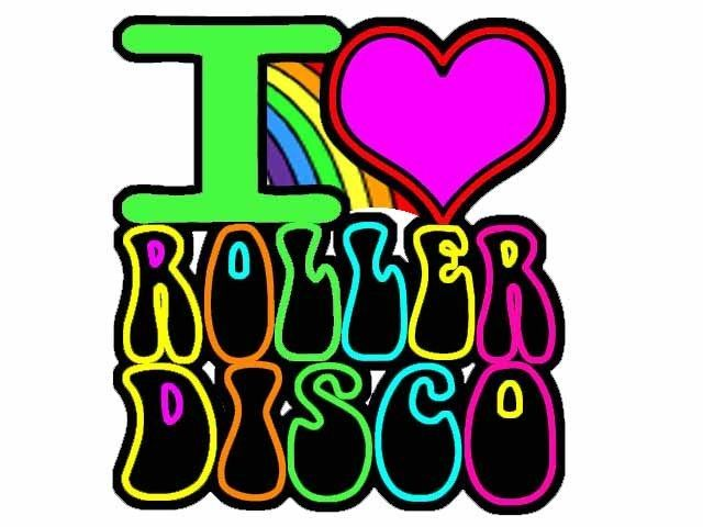Popular I Love Roller Disco Iron on T Shirt Transfer Multicolor in Clothes Shoes u Accessories