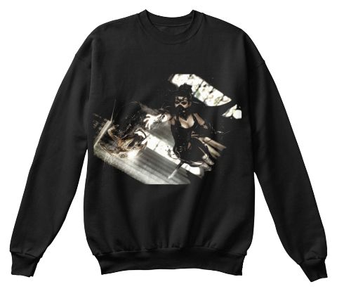 The Mask Black Sweatshirt Front