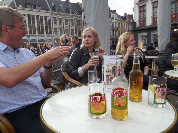 When in France you must drink Desperados beer.
