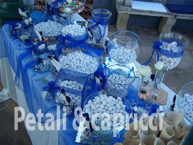 Matrimonio Azzurro E Blu : Idee per confettata blu verde cerca con google